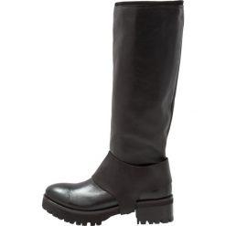 Felmini RINA Kozaki black. Czarne buty zimowe damskie Felmini, z materiału. W wyprzedaży za 335,60 zł.