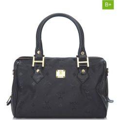 Torebki klasyczne damskie: Skórzana torebka w kolorze czarnym – 26 x 16,5 x 16 cm
