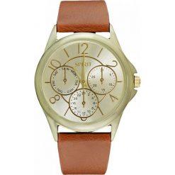 Zegarek SPIRIT DAMSKI ASPL61 CLASSIC GOLD FASHION. Brązowe zegarki damskie SPIRIT. Za 86,51 zł.