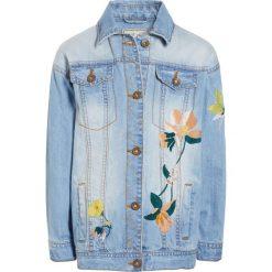 Next Kurtka jeansowa blue. Niebieskie kurtki dziewczęce Next, z bawełny. W wyprzedaży za 160,30 zł.