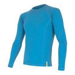 Odzież termoaktywna męska: Sensor Koszulka Termoatywna Z Długim Rękawem Merino Df M Blue M