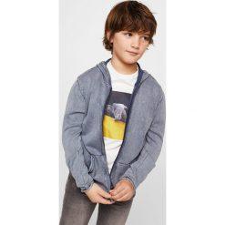 Swetry chłopięce: Mango Kids – Kardigan dziecięcy Bro 110-164 cm