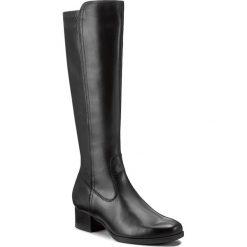 Kozaki LASOCKI - 1404-01 Czarny. Czarne buty zimowe damskie Lasocki, z materiału, na obcasie. Za 299,99 zł.