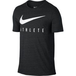 Nike Koszulka Sportowa Db Mesh Swoosh Athlete Tee 806377 032 Xl. Czarne koszulki do fitnessu męskie Nike, m, z meshu, dri-fit (nike). W wyprzedaży za 89,00 zł.