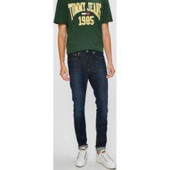 Calvin Klein Jeans - Jeansy Skinny West. Niebieskie rurki męskie Calvin Klein Jeans, z bawełny. Za 399,90 zł.