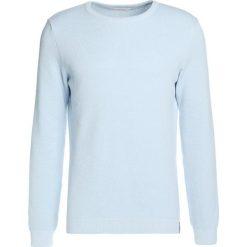 Kardigany męskie: Knowledge Cotton Apparel CREW NECK GOTS Sweter skyway