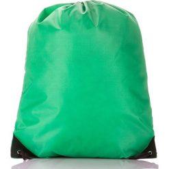 Zielony Młodzieżowy szkolny plecak worek. Szara plecaki męskie marki KIPSTA, z materiału, młodzieżowe. Za 14,90 zł.