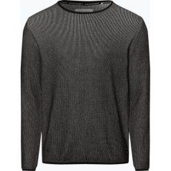 Marc O'Polo Denim - Sweter męski, czarny. Czarne swetry klasyczne męskie Marc O'Polo DENIM, l, z bawełny, polo. Za 349,95 zł.