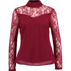 Bluzki asymetryczne: Vero Moda VMFLIRTING Bluzka zinfandel