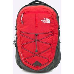The North Face - Plecak. Czerwone plecaki męskie marki The North Face, w paski, z nylonu. W wyprzedaży za 299,90 zł.