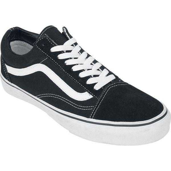 buty vans damskie bialo czarne