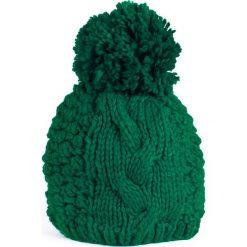 Czapka damska Pętelki zielona (cz13139). Zielone czapki zimowe damskie marki Art of Polo. Za 37,60 zł.