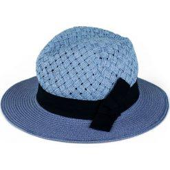 Kapelusz damski Morska fala niebieski (cz15171). Niebieskie kapelusze damskie marki Art of Polo. Za 36,52 zł.