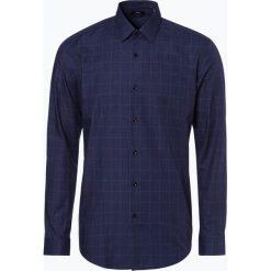BOSS - Koszula męska – Isko, niebieski. Czarne koszule męskie slim marki Boss, m. Za 499,95 zł.