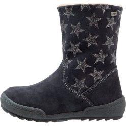 Lurchi LARI TEX Śniegowce atlantic. Czarne buty zimowe damskie marki Lurchi, z materiału. W wyprzedaży za 224,25 zł.