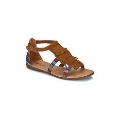 Sandały Minnetonka  MAUI. Brązowe sandały damskie Minnetonka. Za 285,13 zł.