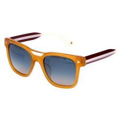 """Okulary przeciwsłoneczne damskie: Okulary przeciwsłoneczne """"BY4064A04"""" w kolorze żółtym"""