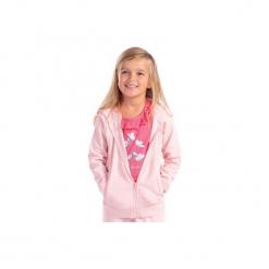 Bluza rozpinana dziewczęca. Różowe bluzy dziewczęce rozpinane marki TXM. Za 19,99 zł.