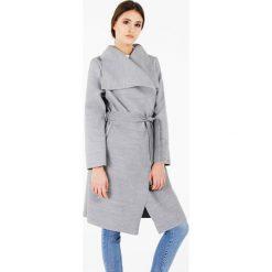Płaszcze damskie pastelowe: Płaszcz materiałowy - 65-5079L GCW8