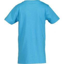 Blue Seven - T-shirt dziecięcy 92-128 cm. Niebieskie t-shirty chłopięce z nadrukiem marki Blue Seven, z bawełny, z okrągłym kołnierzem. W wyprzedaży za 19,90 zł.