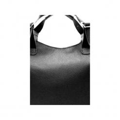 Skórzana torebka do ręki , na ramię. Czarne torebki klasyczne damskie Pracownia6-9, z materiału. Za 145,00 zł.