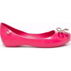 Zaxy  - Baleriny dziecięce. Różowe baleriny dziewczęce marki Zaxy, z materiału. W wyprzedaży za 79,90 zł.