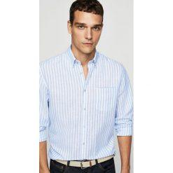 Koszule męskie na spinki: Mango Man – Koszula Carlos