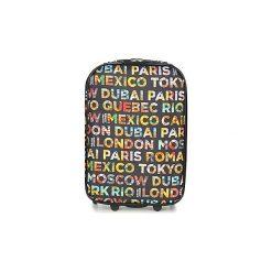 Walizki miękkie David Jones  BELLATO 35L. Czarne torebki klasyczne damskie marki David Jones. Za 116,10 zł.