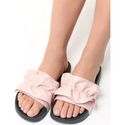 Klapki damskie: Różowe Klapki Pastiche