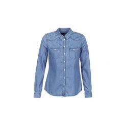 Koszule Yurban  IHEFOU. Niebieskie koszule wiązane damskie Yurban, l. Za 143,20 zł.