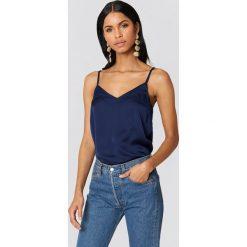 T-shirty damskie: Rut&Circle Koszulka Malin – Navy