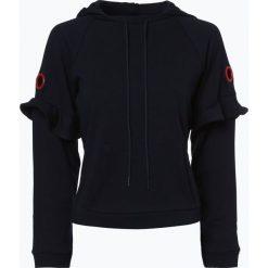 Armani Exchange - Damska bluza nierozpinana, niebieski. Czarne bluzy z kapturem damskie marki Armani Exchange, l, z materiału. Za 379,95 zł.