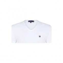 Giorgio Di Mare T-Shirt Męski L Biały. Białe t-shirty męskie Giorgio di Mare, l. W wyprzedaży za 71,90 zł.