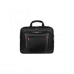 """Torba na laptopa Wenger Sensor 15"""", czarna 600643. Czarne torby na laptopa marki Wenger, w paski. Za 200,10 zł."""