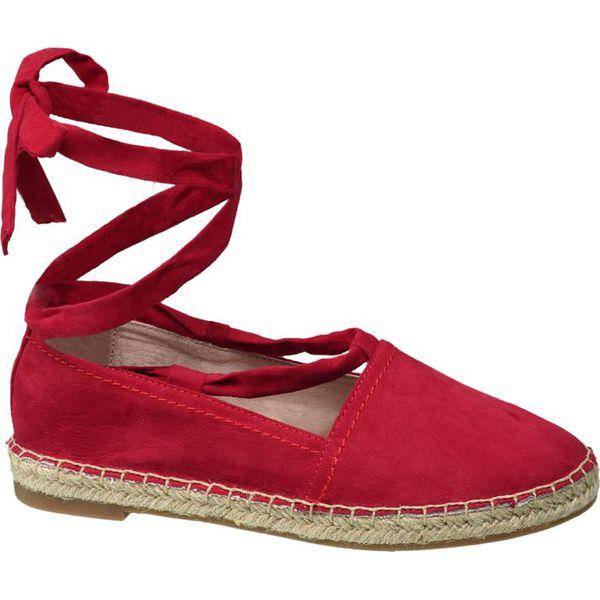 12281ea9 espadryle damskie Venice czerwone - Czerwone espadryle damskie ...