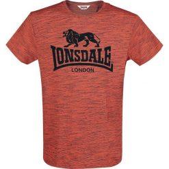 T-shirty męskie: Lonsdale London Goring T-Shirt pomarańczowy/czarny