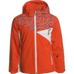 Odzież damska: Spyder PROJECT  Kurtka narciarska burst/coral geo print/white