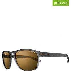 """Okulary przeciwsłoneczne """"Bergen"""" w kolorze czarno-brązowym. Brązowe okulary przeciwsłoneczne damskie marki Triwa, z tworzywa sztucznego. W wyprzedaży za 215,95 zł."""
