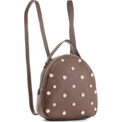 Plecak WITTCHEN - 87-4Y-417-9 Brązowy. Brązowe plecaki damskie Wittchen, ze skóry ekologicznej. Za 289,00 zł.