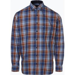 OLYMP Casual modern fit - Koszula męska łatwa w prasowaniu, niebieski. Białe koszule męskie na spinki marki DRYKORN, m. Za 249,95 zł.
