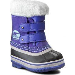 Kozaki dziewczęce: Śniegowce SOREL – Toddler 1964 Pac Strap NV1876 Purple Lotus/Sky Blue 546