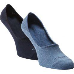 Calvin Klein - Męskie skarpety do obuwia sportowego pakowane po 2 szt., niebieski. Niebieskie skarpetki męskie Calvin Klein, z bawełny. Za 55,95 zł.