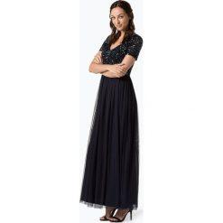 Marie Lund - Damska sukienka wieczorowa, niebieski. Niebieskie sukienki balowe marki Marie Lund, z szyfonu. Za 499,95 zł.