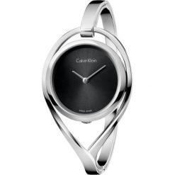 ZEGAREK CALVIN KLEIN Light K6L2M111. Czarne zegarki damskie marki Calvin Klein, szklane. Za 1099,00 zł.
