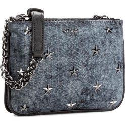 Torebka GUESS - Bradyn (DM) Mini-Bag HWDM66 89700  DEN. Niebieskie listonoszki damskie marki Guess, z aplikacjami. W wyprzedaży za 239,00 zł.