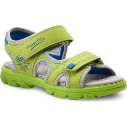 Sandały chłopięce: Sandały SUPERFIT – 2-00180-31 D Gruen Kombi
