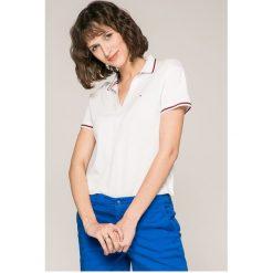 Tommy Jeans - Top. Szare topy damskie marki Tommy Jeans, l, z bawełny. W wyprzedaży za 199,90 zł.
