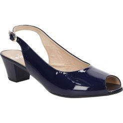 SANDAŁY CAPRICE 9-28315-26. Czarne sandały damskie Caprice. Za 199,99 zł.