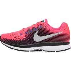 Buty do biegania damskie: Nike Performance AIR ZOOM PEGASUS 34 Obuwie do biegania treningowe solar red/metallic silver/black persian violet/aurora greenwhite