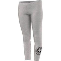 Adidas Legginsy szare r. M (AJ7655). Czarne legginsy sportowe damskie marki Adidas, l, z bawełny. Za 85,70 zł.
